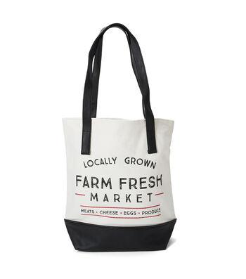 Canvas Tote Bag-Farm Fresh