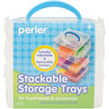 Perler 19 pk Square Stackable Storage Trays