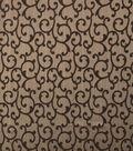 Home Decor 8\u0022x8\u0022 Fabric Swatch-Eaton Square Again /  Mocha
