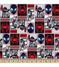 Marvel Spider-Man Cotton Fabric-Spiderverse Comic