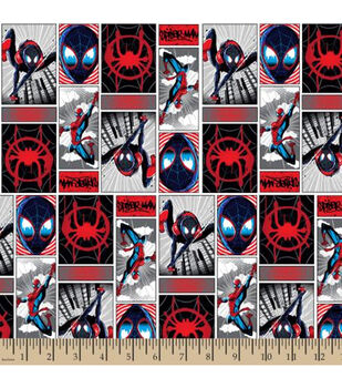 a23822430e Marvel Spider-Man Cotton Fabric-Spiderverse Comic