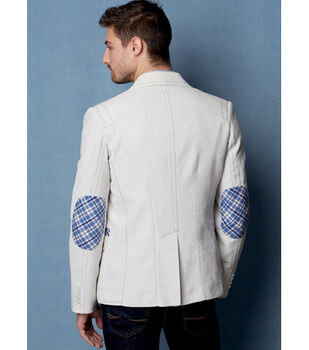 Vogue Pattern V9262 Men's Lined Jacket with Top Stitching-Size 34-40