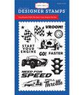 Carta Bella Stamp 4\u0022X6\u0022-Cartopia, Start Your Engine
