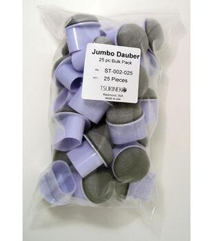 """Jumbo Daubers 25/Pkg-1.5""""X1.375""""X.625"""""""