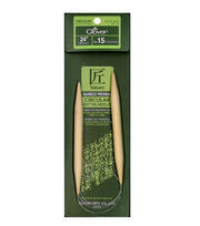 "Takumi Bamboo Circular Knitting Needles 24""-Size 15/10mm, , hi-res"