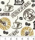 Snuggle Flannel Fabric 42\u0022-Hot Coffee