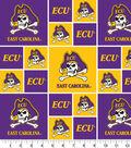 East Carolina University Pirates Cotton Fabric 43\u0022-Block