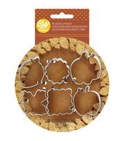 Wilton Fall Pie Crust Cutter Set 6pc, , hi-res
