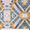 Anti-Pill Plush Fleece Fabric-Spring Aztec
