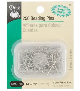 "Dritz 0.88"" Beading Pins 250pcs"