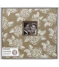 Burlap Floral 12x12 Boxed Scrapbook