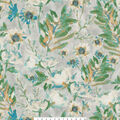 Kelly Ripa Home Upholstery Décor Fabric-Flower Mania Seaglass