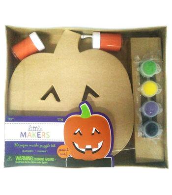 Little Maker's 3D Paper Mache-Pumpkin