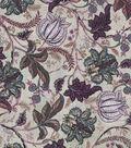 Vintage Cotton Fabric 43\u0022-Jacobean Light Purple