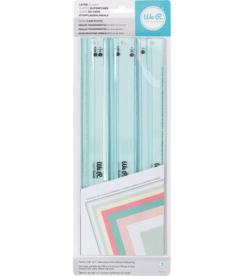 We R Memory Keepers Layer Guides 3/Pkg