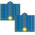 Carson Dellosa Rainbow Star Crowns, 23.5\u0022 x 6.25\u0022, 30 Per Pack, 2 Packs