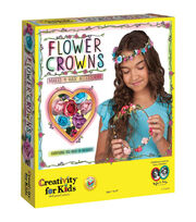Creativity for Kids Flower Crowns Kit, , hi-res