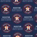 Houston Astros Cotton Fabric -Logo