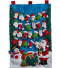 Mittens & Stockings Advent Calendar Felt Applique Kit