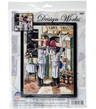 Design Works Crafts 12  x16   Counted Cross Stitch Kit-Getting Ready 6ca7ce9e6
