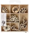 Themed Mini Wooden Flourishes-Oriental