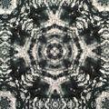 Knit Fabric 57\u0027\u0027-Black Kaleidoscope Tie Dye