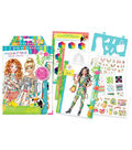 Make It Real Fashion Design Sketchbook-Graphic Jungle