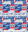 Los Angeles Dodgers Cotton Fabric -Winter