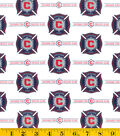 Chicago Fire Cotton Fabric 58\u0022-Logo