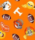 University of Tennessee Volunteers Fleece Fabric 60\u0022-Emoji