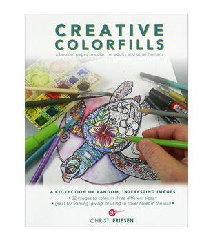 Creative Colorfills Coloring Book