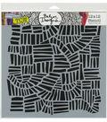 The Crafter\u0027s Workshop Julie Fei-Fan Balze Stencil-Magic Ladder