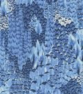 Keepsake Calico Cotton Fabric 44\u0027\u0027-Blue Cato