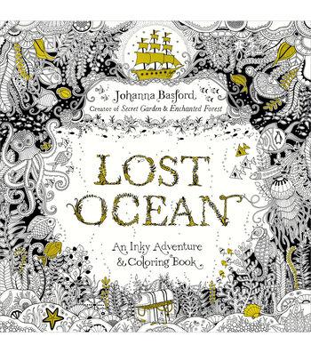 Adult Coloring Book-Random House Lost Oceans