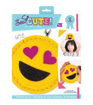 Makit & Bakit Sew Cute Suncatcher Kit-Heart Eyes