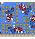 Nintendo Mario Print Fabric-Coin Toss