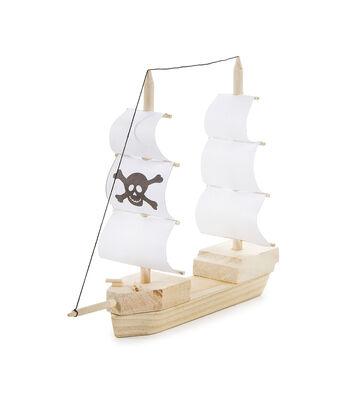 Wood Model Kit-Pirate Ship