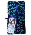 Pre-Cut Quilt Fabrics 18\u0022x21\u0022-Blue Batik