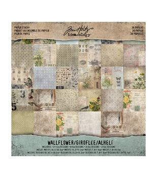 Tim Holtz Paper Stash Wallflower