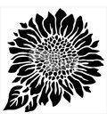 Crafter\u0027s Workshop Carmen Medlin 6\u0027\u0027x6\u0027\u0027 Stencil-Joyful Sunflower