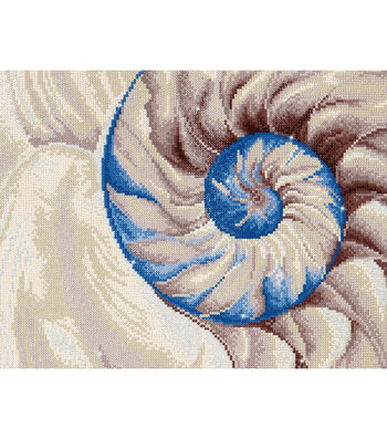 "Diamond Embroidery Facet Art Kit 30""X21.5""-Nautilus"
