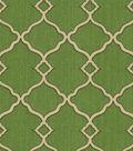 Waverly Lightweight Decor Fabric-Sns Chippendale Fretwork Moss