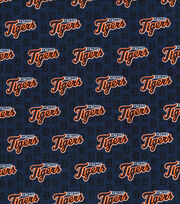 Detroit Tigers Cotton Fabric -Mini Print, , hi-res