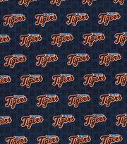Detroit Tigers Cotton Fabric -Mini Print, , hi-res