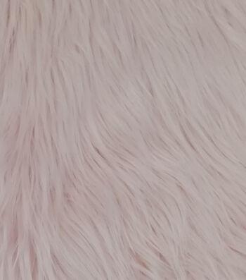 Husky Faux Fur Fabric-Blush