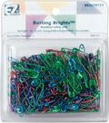 Basting Brights Safety Pins-200/Pkg