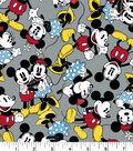 Disney Mickey & Minnie Flannel Fabric-Together