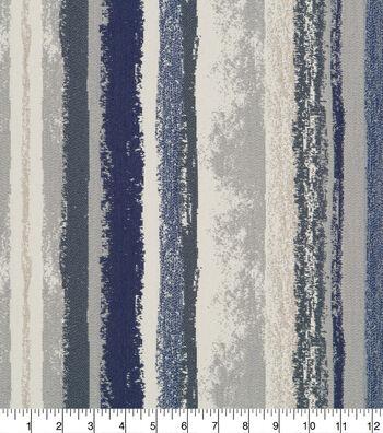 Robert Allen @ Home Upholstery Fabric 58''-Indigo Art Band