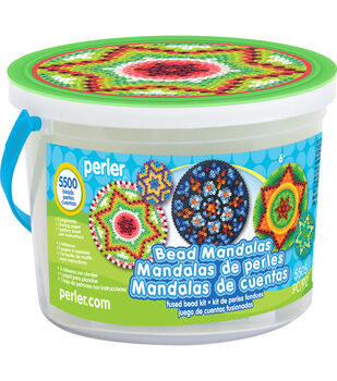 Perler Mandalas Activity Bucket