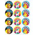 Unique Unicorns-Tutti-Frutti Stinky Stickers 48 Per Pack, 6 Packs